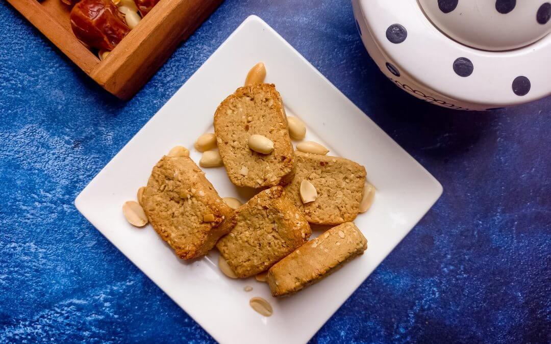 Healthy Vegan pindakoeken (glutenvrij)