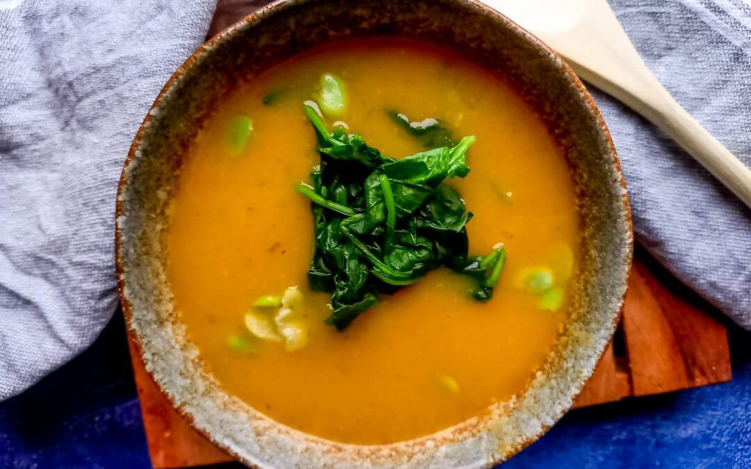 Healthy Vegan Portugese sopa de legumes