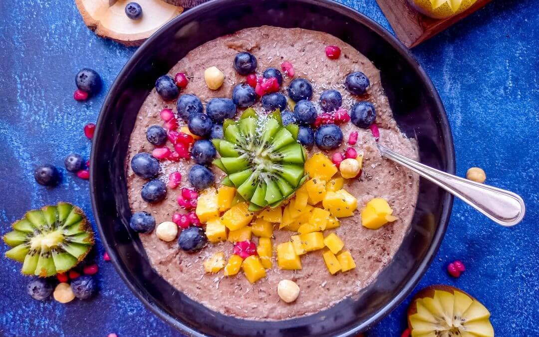 Healthy Vegan choco-boekweitpap (glutenvrij)