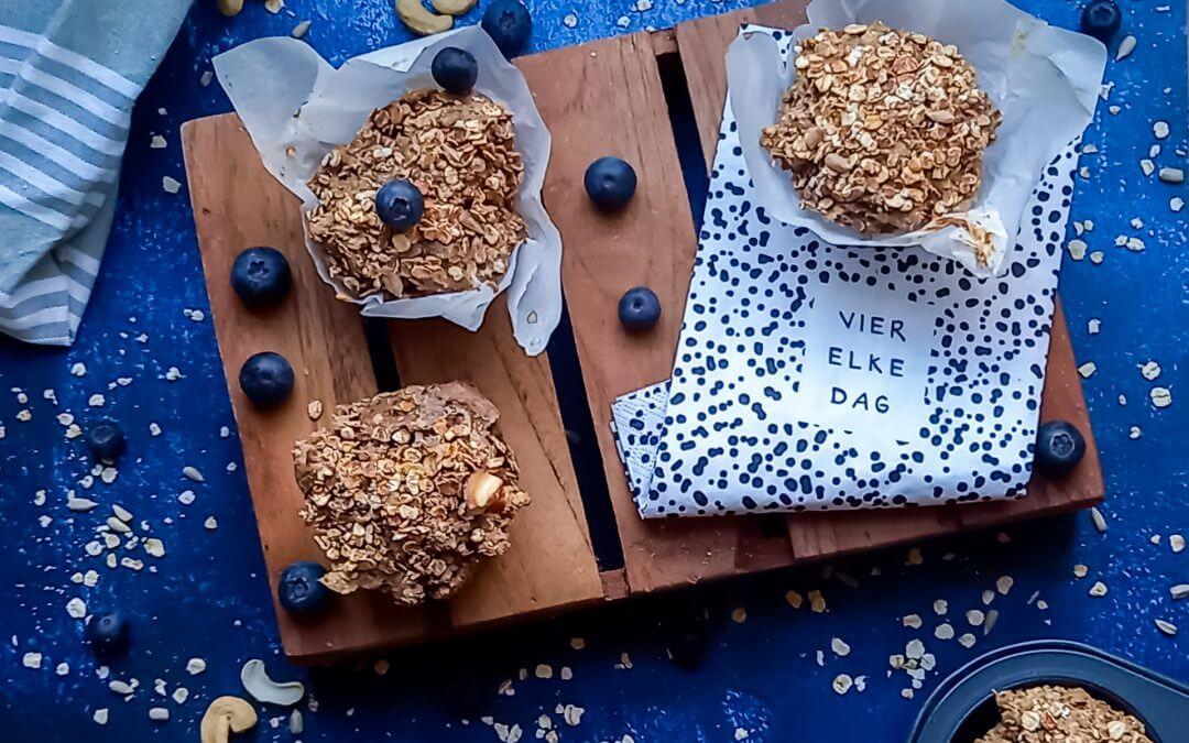 Granola ontbijtmuffins (glutenvrij)