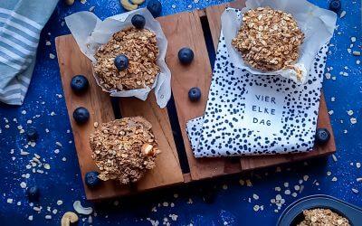 Granola ontbijtmuffins