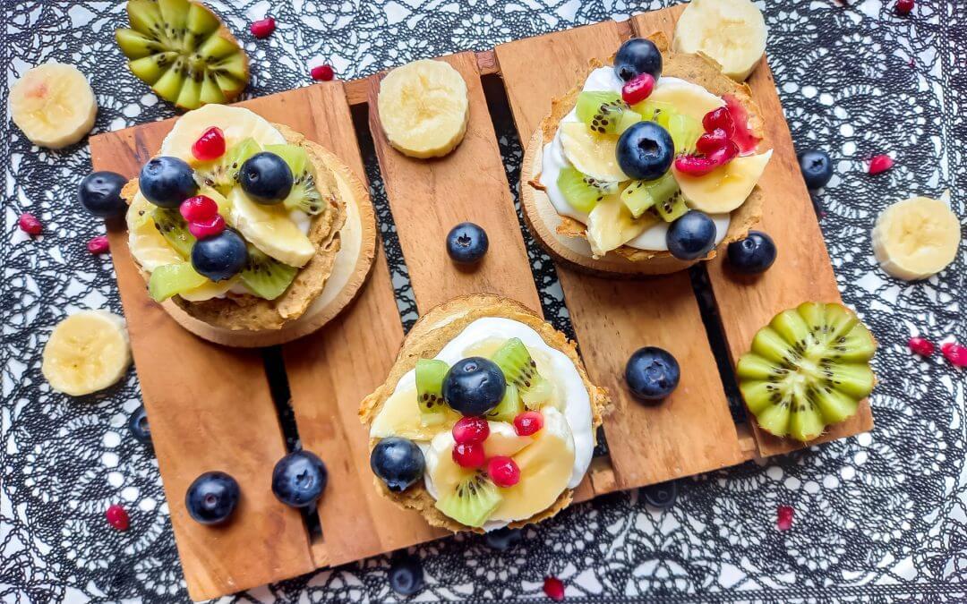 Fruitige ontbijtbakjes (Healthy Vegan)