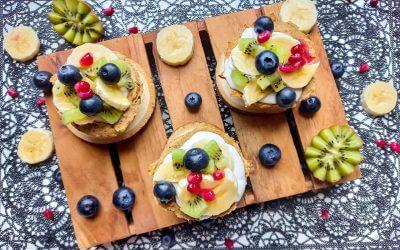 Fruitige ontbijtbakjes (glutenvrij ontbijt)