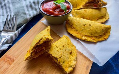Healthy Vegan empanada's glutenvrij