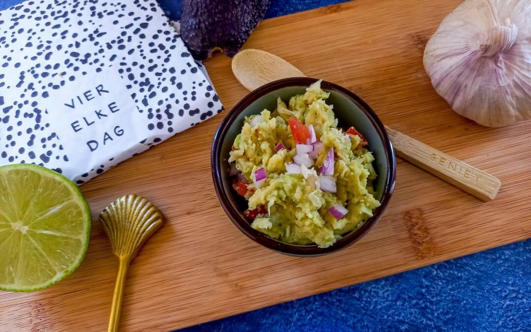 Makkelijke en lekkere guacamole