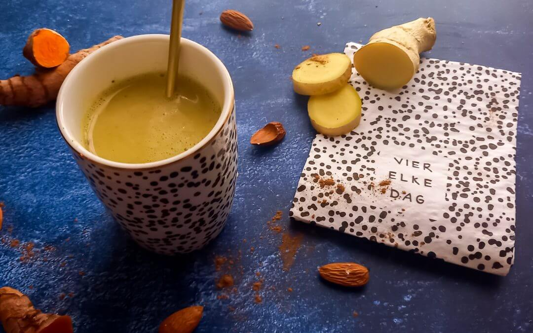 Healthy Vegan Golden Milk