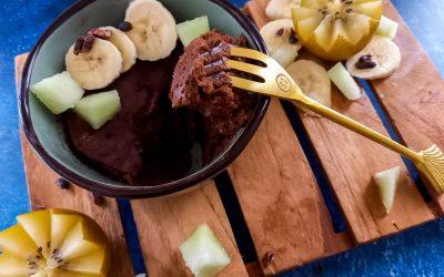 Whole food plant-based vegan mugcake