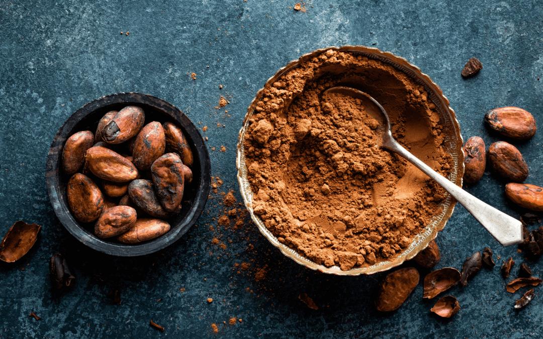 Rauwe cacao, bomvol gezondheid
