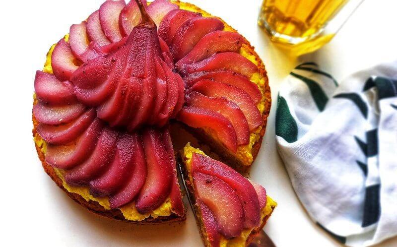 Healthy Vegan Stoofperentaart (glutenvrij)