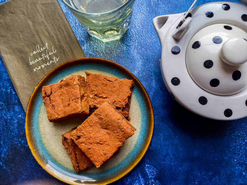 Healthy vegan brownie (glutenvrij)