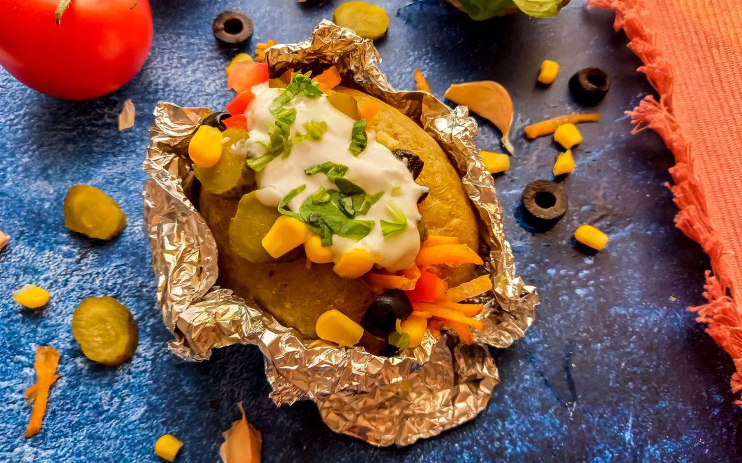Turkse Kumpir (gevulde aardappel)