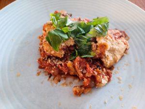 Vegan Italiaanse lasagne