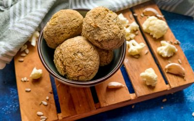 Bloemkool broodjes (glutenvrij)