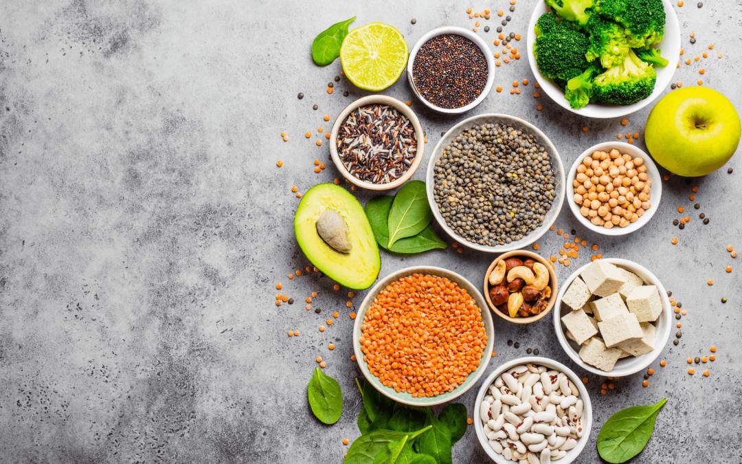Belangrijke voedingsstoffen bij een plantaardig voedingspatroon